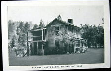 YOSEMITE CA ~ 1920's BRET HARTE CABIN ~ BIG OAK FLAT ROAD ~ AUTHOR & POET