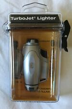 True Utility TurboJet Lighter Gas Refillable Windproof Technology TU407 NEW
