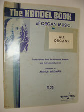 G F Handel Book of Organ Music 1956 Oratorios Operas Instrumentals arr Wildman