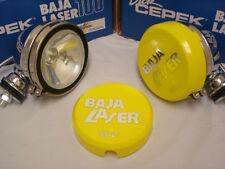 "Dick Cepek 100W Watt H3 Baja 5"" Chrome Off Road Light Pair Baja Laser 2 Lights"