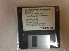 Data I/O 326-0487-010 MS DOS 1.44 MB, 3900 Series Cross Reference Disk 1/1 v5.60