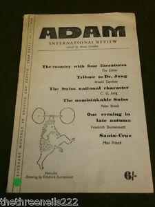 THEATRE - ADAM INTERNATIONAL REVIEW - 1959 VOL 27 #274 - RUE DE PROVENCE - SWISS
