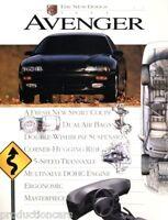 1995 Dodge Avenger 24-page BIG Size Original Car Dealer Sales Brochure Catalog