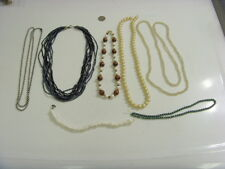 vintage jewelry items repair parts lot necklace components bellydance ats 46998