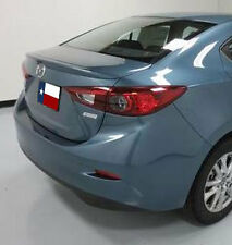 Mazda 3 2014 Lip Style Rear Spoiler primer ready to paint Made in the USA
