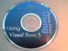 QUE : Using Visual Basic 5 : Platinum Edition : Installation CD