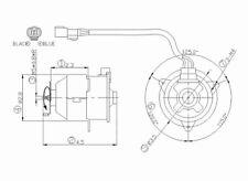Engine Cooling Fan Motor Left TYC 630840