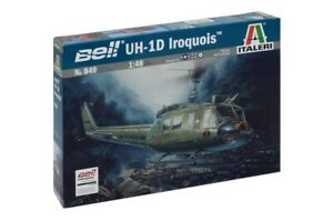 Italeri Model kit #0849 1/48 Bell UH-1D Slick Iroquois (incl. Australian Decals)