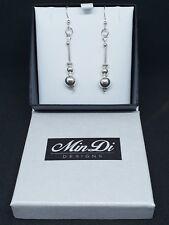 Handmade earrings made from Sterling Silver
