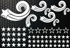 93 Stelle Star Adesivi Auto Set Adesivo Tuning Fee Stylin ' adesivo tribale xex