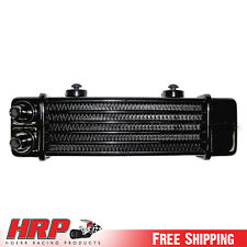 Jagg Oil Coolers 6 row 90 degree inlet/outlet w/ 3 7/8 on-center 3100