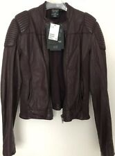 H&M Trish Summerville Dragon Tatoo Leather Jacket new with tags