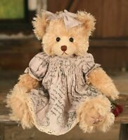 "SETTLER BEARS FIGTREE COLLECTION MAISIE15"" PLUSH JOINTED TEDDY BEAR - BNWT"