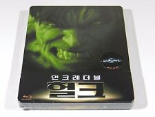 The Incredible Hulk Blu-ray Steelbook [Korea] Novamedia 1/4 Slip Ed #242/1800