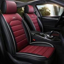 5 Layer Car Seat Cover Full Set Waterproof Leather Universal for Sedan Suv Truck