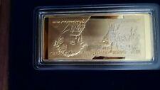 More details for 24k gold plated banknote set windsor mint half price