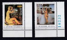 Jugoslawien 1993 postfrisch MiNr. 2603-2604  Zeitgenössische Kunst