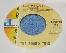 Zimbo Trio, The ~ She Swings While She Walks (Balanco Zona Sul) /  ~ Promo (VG)