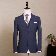 CUSTOM MADE to MEASURE Hand Tailored Men's BESPOKE SUITS Groomsmen Wedding Suit