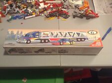 NEW IN BOX Sunoco car carrier Truck With  cars 6th of Series 1999 Edition