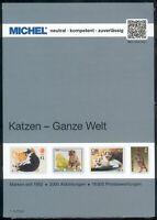 Michel Briefmarken Katalog Katzen -Ganze Welt, 2018, 1. Auflage, 264 Seiten