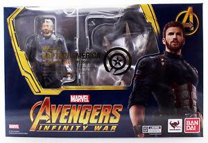 Marvel Capitaine America & Tamashii Effect Avengers Infinity War Figuarts Bandai