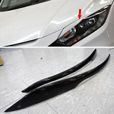 Transfer Print Carbon For Honda HRV HR-V 5Dr Front Headlight Eyebrows Eyelids