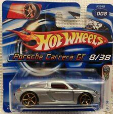 Hot Wheels 2006 FIRST EDITIONS FASTER THAN EVER PORSCHE CARRERA GT SHORT CARD