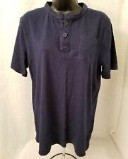 Cherokee Boys Blue Henley Shirt Top Size XL 16 18