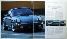 PORSCHE 911, 924 S, 944, 944 Turbo, 928 S Prospekt/Katalog von 1985, 48 Seiten