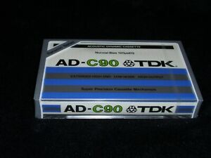 TDK AD-C90,Audio Cassette,1979,Excellent condition,for collection,Made in Japan