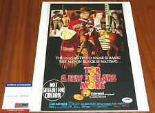 Ennio Morricone Signed 11x14 For A Few Dollars More Composer Oscar Psa/Dna