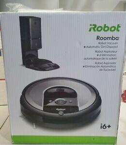 iRobot Roomba i6+(6550)Robot Vac W/Automatic Dirt Disposal Ideal for Pets *MINT*