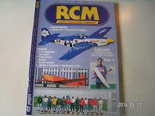 ** RCM n°249 Plan encarté Mauboussin Corsaire / Tiger Moth Robbe