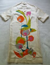 Vtg ALFRED SHAHEEN HAWAII Mid Century Modern 60's 50's Mod Art Shirt Dress Robe