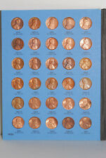 Whitman Lincoln Cent 1975-1999 Coin Folder, Penny Album, with 79 coins included