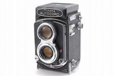 【EXC+++++】 Minolta Autocord TLR Film Camera w/ Rokkor 75mm f3.5 from Japan #823
