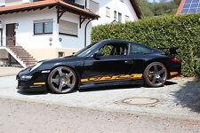 PORSCHE 911 997 Coupe  Cabrio ABS Seitenschweller GT GT3 Black-Edition