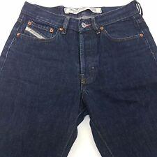 Diesel KULTER Mens Vintage Jeans W29 L30 Dark Blue Regular Straight High Rise