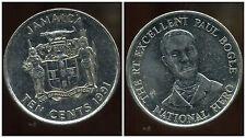 JAMAIQUE teen  10  cent 1991  ( bis )