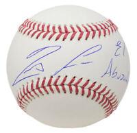 Ronald Acuna Jr. Signed Atlanta Braves MLB Baseball El Abusador JSA