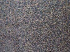 "Lee Jofa Groundworks ""Meander Weave"" geometric chenille BTY color larkspur blue"