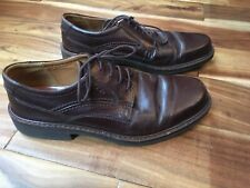 Men's ECCO Dress Shoes Brown Leather Size 44