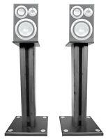 """Pair 26"""" Bookshelf Speaker Stands For Yamaha NS-6490 Bookshelf Speakers"""