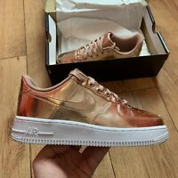 Nike Women's Air Force 1 SP Trainers Size UK 6 EUR 40 Rose Gold CQ6566 900 NEW