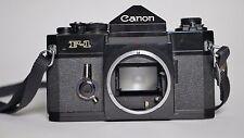 Canon f1 35 mm film caméra SLR Body Seulement Boîtier-entièrement fonctionnel Near Comme neuf