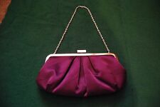 Next Purple Evening Handbag