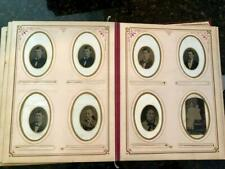New ListingNo Reserve [ Photo Album #1A ] Tintypes Cdvs Cabinet Cards / Victorian Antique
