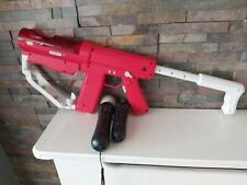 SONY PLAYSTATION MOVE SHARP SHOOTER / NAVIGATION CONTROLLER / MOTION CONTROLLER.