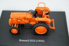 1:43 U/H Hachette 1956 RENAULT D22 Diecast Farm Tractor on Display Plinth MIB